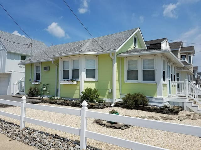 Adorable original Stone Harbor cottage.  Recently updated and ready for you to enjoy this summer.
