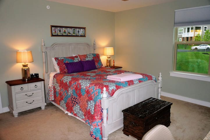 Prvt bedroom and bathroom near DC/Quantico