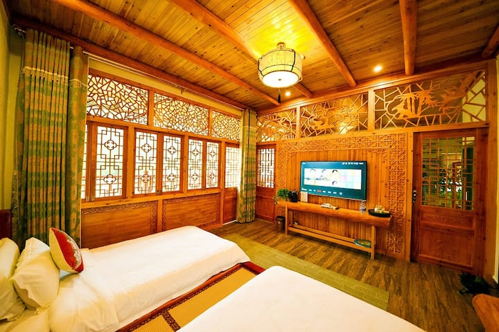 Qing Wu inn | parent-child family room