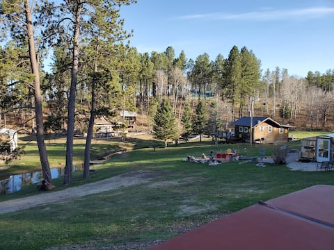 The Love Shack next to stream in the Black Hills