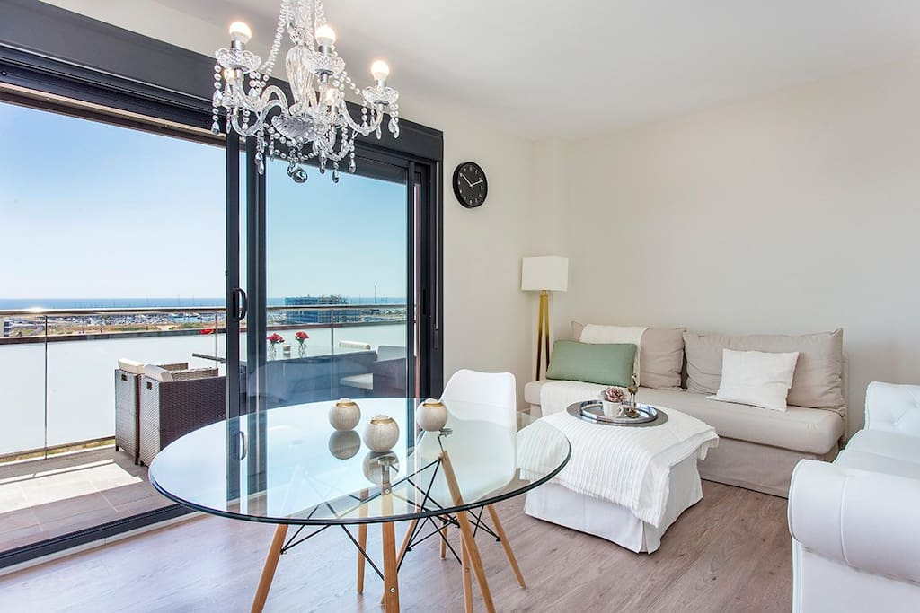 Espectacular piso a estrenar con vistas al mar apartamentos en alquiler en badalona catalunya - Pisos a estrenar en madrid ...