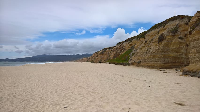 Walk to beach, 20 mins to San Mateo - Half Moon Bay