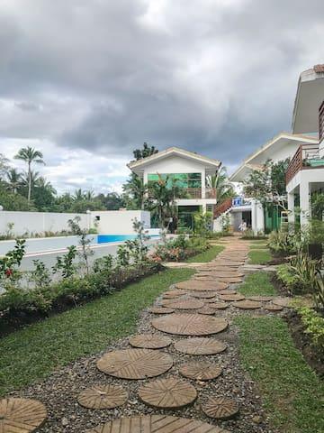 Panglao有鲸鱼泳池的房子
