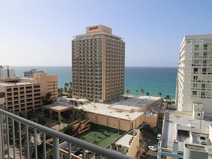 Ocean View 16th Floor in San Juan