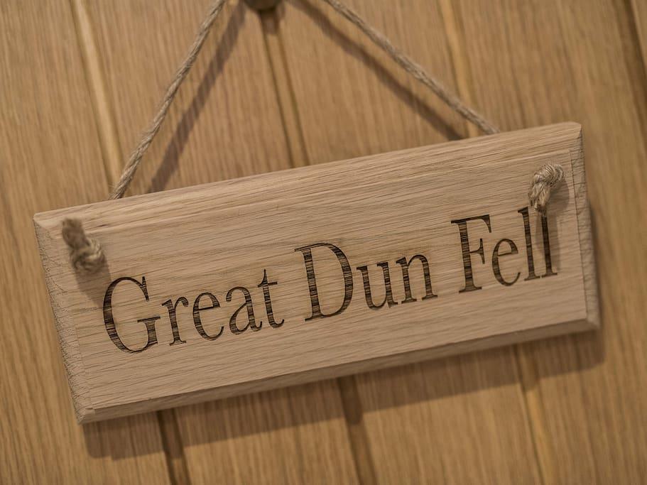 Great Dun Fell ( king room)