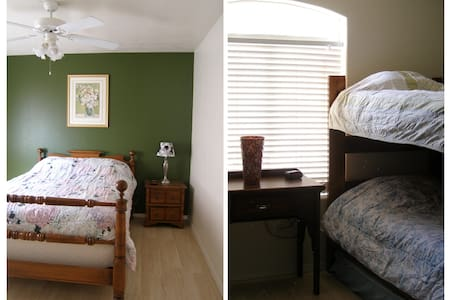 2 Separate Bedrooms - Perfect for Families - House