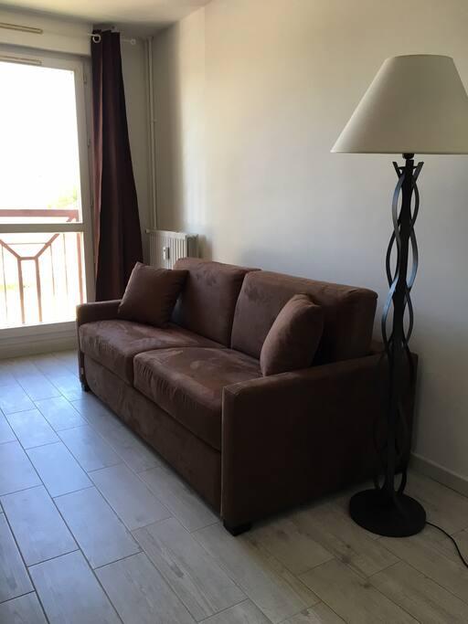 canapé-lit studio