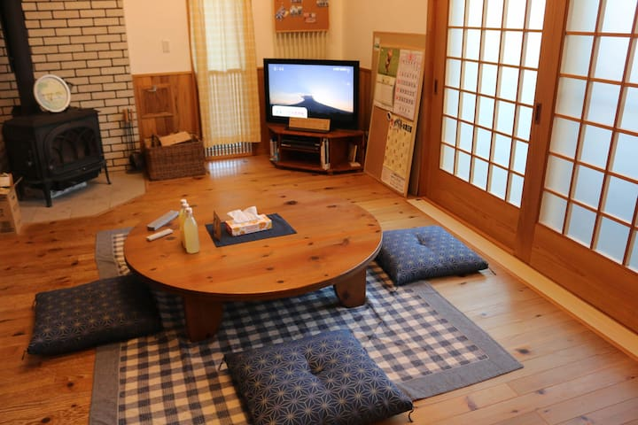 Stargazing Farm/Retreat in Hirosaki★Free Pickup!