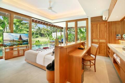 1 bedroom private pool,Luxury,clean,24 hours staff