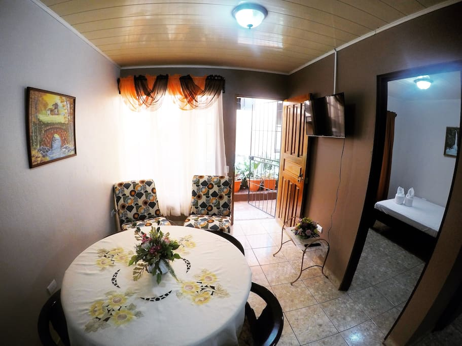Beautiful and decorated Living Room special for  resting desk area and with High Speed WIFI
