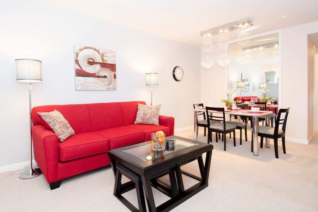 Newly furnished 2 bedroom condo - make it home away from home...