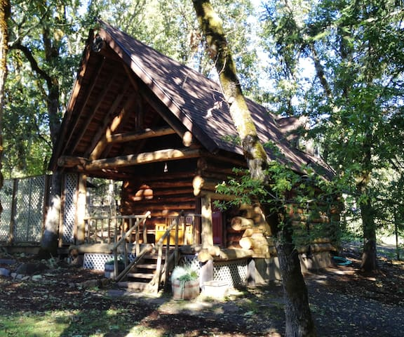 Little Log Cabin in the Woods! - Eugene - Cabin