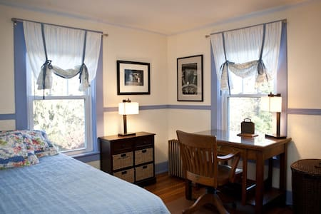 Lovely room in Lenox (Blue)