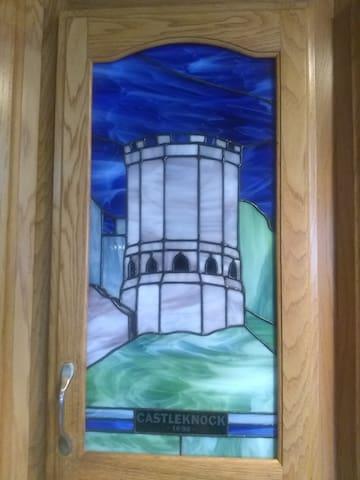 castle coffee cabinet