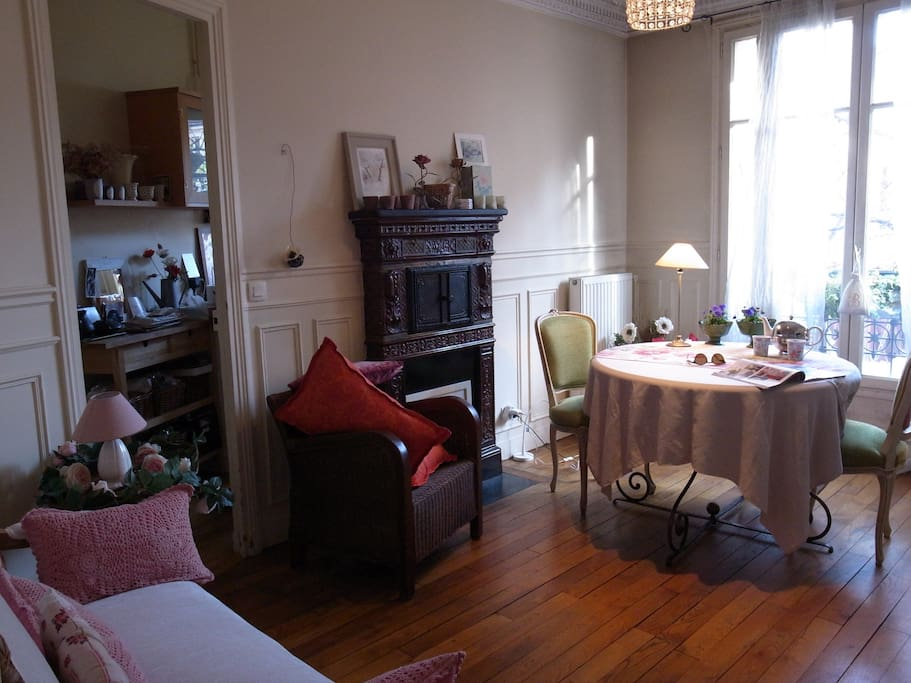 Chambre d 39 h tes montsouris appartements louer for Chambre d hote de charme paris