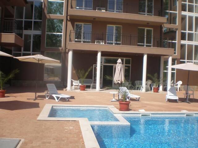 Apartment A216 at St. Sofia, Sunny Beach, Bulgaria