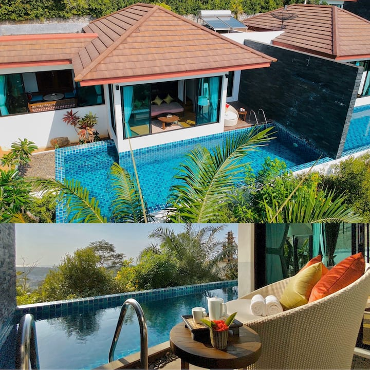 Silla Villa 4 with private pool @ Kata Beach