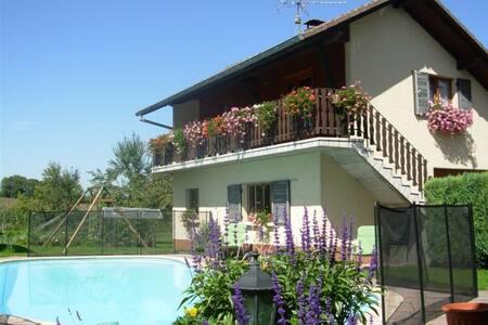 Le Ruisseau Fleuri superbe gîte pour 4 personnes - Hirtzbach - House