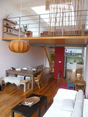 A beautiful loft with a garden - Praga - Loft