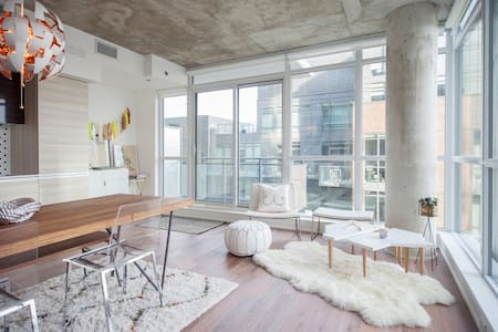 Boho glam loft on West Queen West