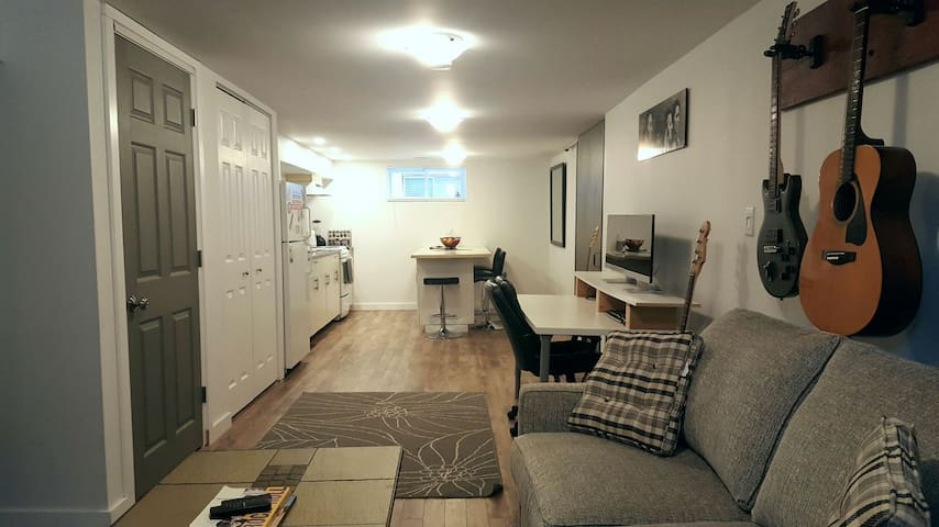Spacious 1 Bedroom Basement Apartment - Collingwood - Wohnung