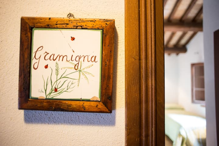 Splendida camera in campagna Sabin - Poggio Mirteto - Bed & Breakfast