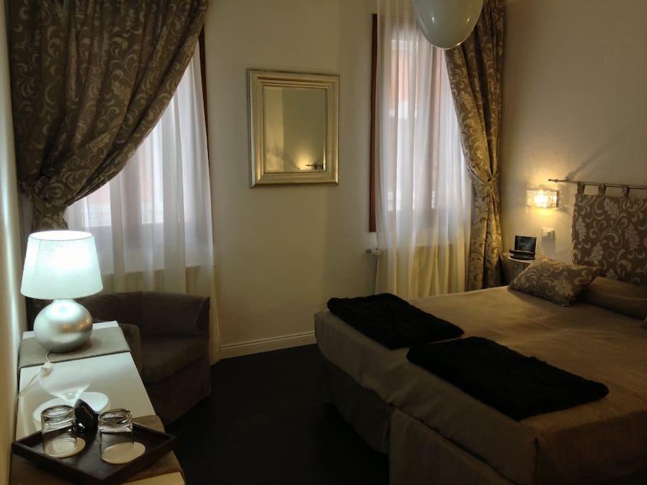 Meravigliosa camera con bagno turco chambres d 39 h tes for Chambre d hote venise