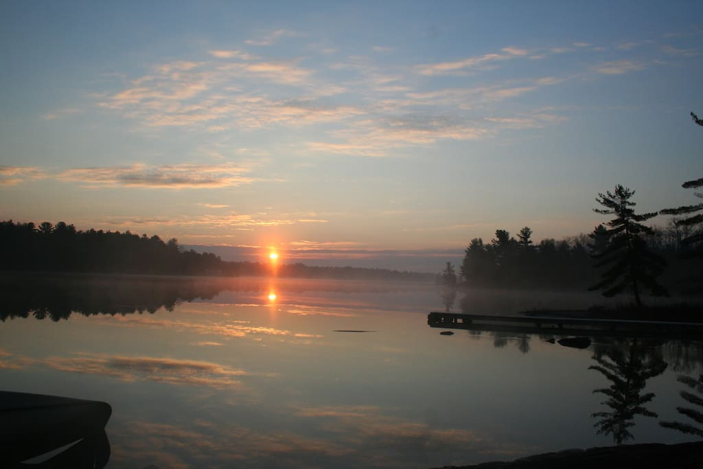 Sunrise on Tea Lake