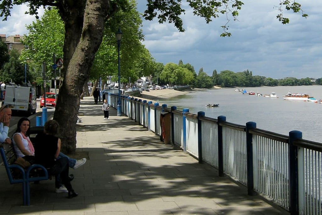 Thames Embankment - part of the ThamesPath