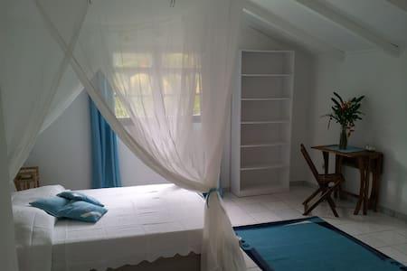 Chambre d'hôtes Bleue à Deshaies - Deshaies - Bed & Breakfast