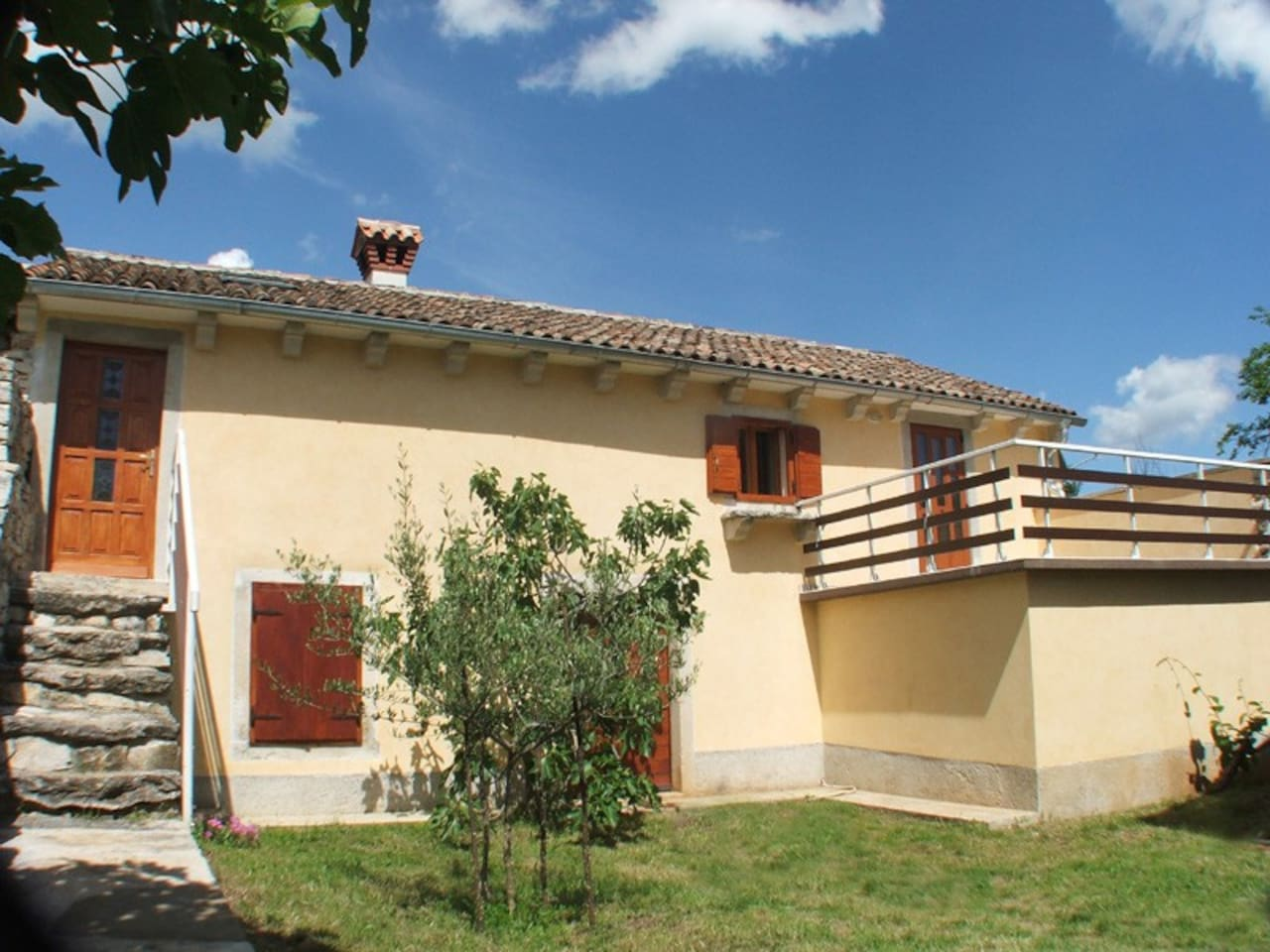 Apartment for 2 in old istrian hous