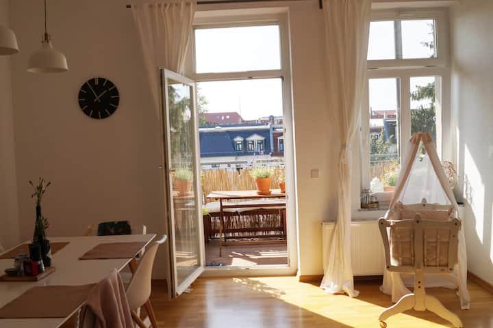 Lovely flat in the Südvorstadt for sublease 2021