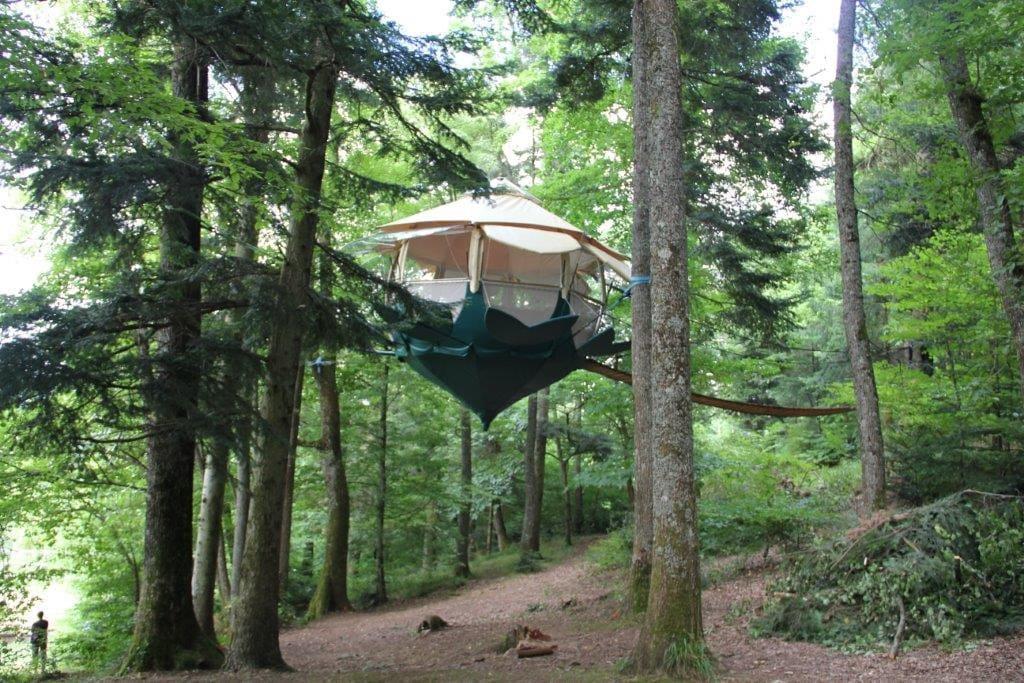 la campalune un h bergement dans les arbres cabanes dans les arbres louer buhl alsace. Black Bedroom Furniture Sets. Home Design Ideas