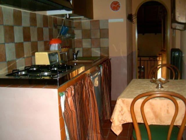 La vecchia mola - Camera con angolo cottura - Ronciglione - Casa