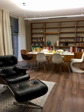 Gemütliche Wohnung mit Loftcharakter in Alsternäh - Amburgo - Loft