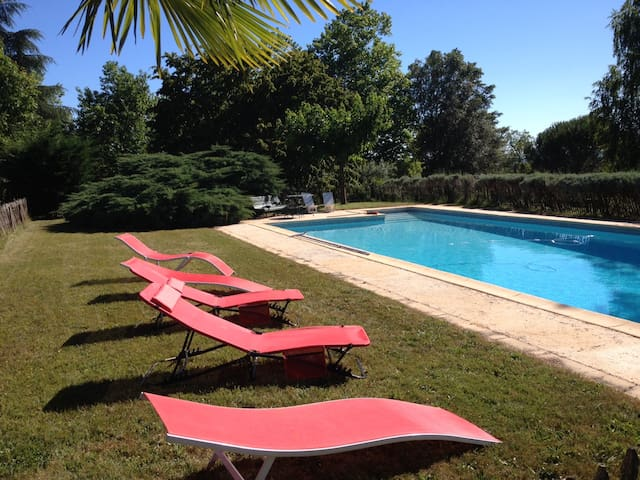 Mansion - 140 km from the beach - Liorac-sur-Louyre - Castelo