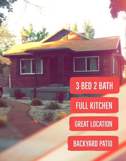3 Bedroom 2 Bath Liberty Wells Vacation Home Houses For Rent In Salt Lake City Utah United