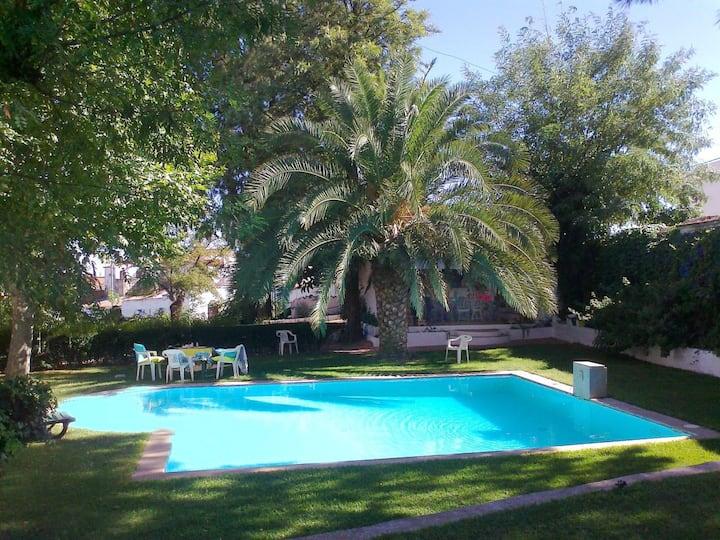 Villa de 5 habitaciones en Vila Verde de Ficalho, con magnificas vistas a las montañas, piscina privada, jardín cerrado