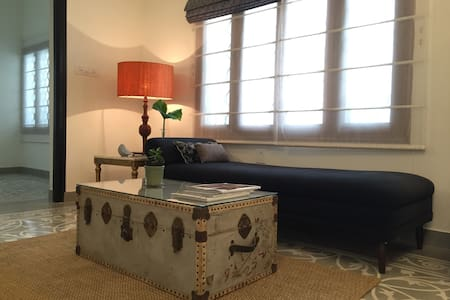Garden room-architect-designed flat
