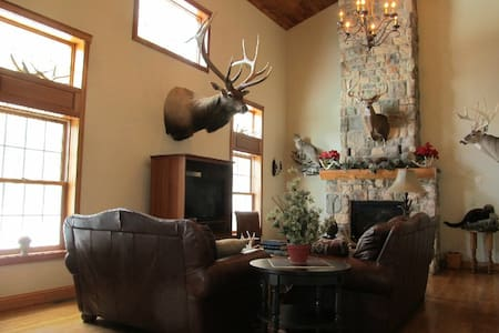 Welcome to our Mountain Lodge! - Moshannon - Casa