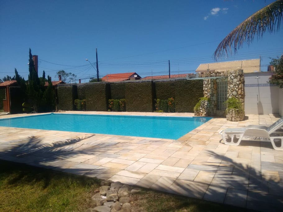 piscina com cascata - tam. 6x12m