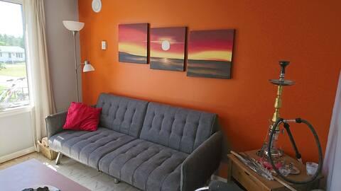 Semi private Sofa-bed (size 6'...1.82 m) 1st floor