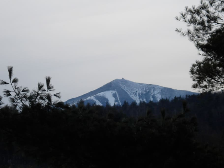 Whiteface Mt., view from deck--ready for you to hike or ski!