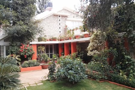 1) Outer Room in Dream Garden Villa - Bangalore