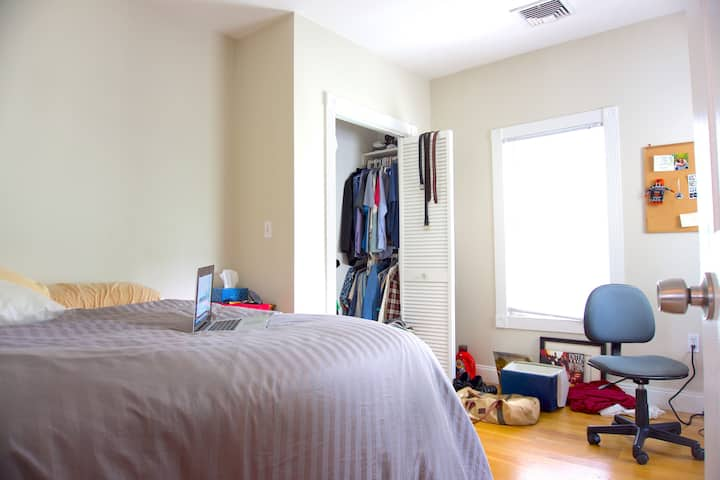 Private Bedroom- 4BR Home w/ Off-Street Parking #3