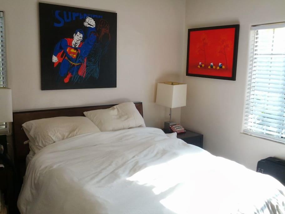"Master Bedroom w/32"" LCD TV"