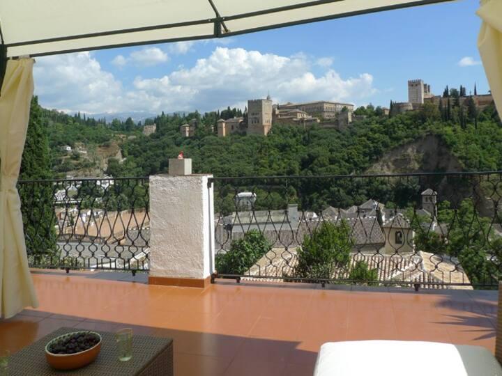 las tres terrazas Granada room 1