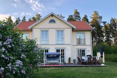 Modern villa i Falun nära centrum och Lugnet