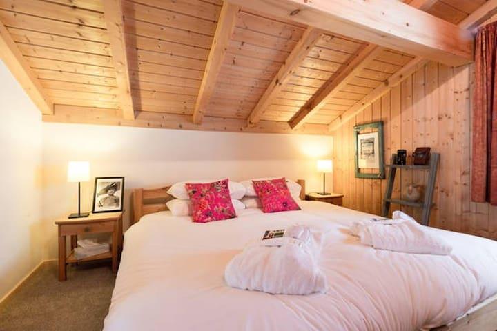Room Cannes (Double/ twin en suite) - Montriond - Daire
