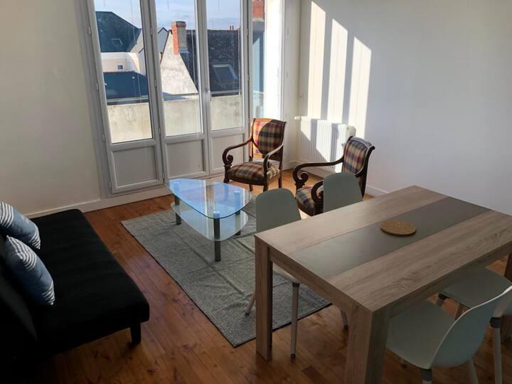 chambre privée 1 dans appartement Gare / UCO